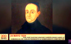 200 años de libertad: Sánchez Carrión nombra al Dr. Carlos Pedemonte como Rector de la UNT