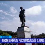 Chiclayo: Rinden homenaje a prócer Pascual Saco Oliveros por sus 224 años