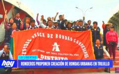 Ronderos de Huamachuco proponen creación de rondas urbanas en Trujillo