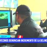 Trujillo: Vecinos denuncian incremento de la delincuencia en Moche