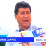 Último sismo afectó infraestructura de colegio Juan Velasco Alvarado