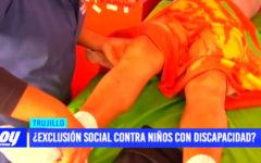 ¿Exclusión social contra niños con discapacidad?