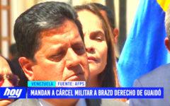 Envían a cárcel militar a brazo derecho de Juan Guaidó