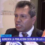 Chiclayo: Aumenta población escolar en I.E. públicas