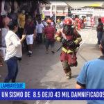 Chiclayo: Un sismo de 8.5 dejo 43 mil damnificados en Chiclayo