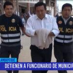 Chiclayo: Detienen a funcionario de municipio de JLO