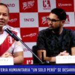 """Piura: Feria humanitaria """"Un solo Perú"""""""