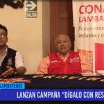 """Chiclayo: Lanzan campaña """"Dígalo con Respeto"""""""