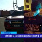 Chimbote: Camioneta estaba estacionado frente a su casa