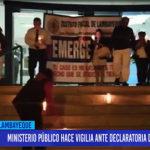 Chiclayo: Ministerio Público hace vigilia ante declaratoria de emergencia
