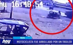 Piura: Motociclista fue arrollado por un tráiler