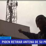 Chiclayo: Piden retirar antena de su propiedad