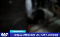 Piura: Rondas campesinas castigan a ladrones