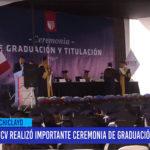 Chiclayo: UCV realizo importante ceremonia de graduación y titulación