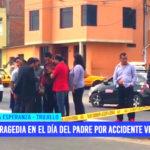 Tragedia en el día del padre por accidente vehicular