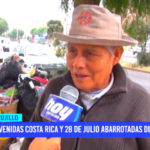 Limpieza pública: avenidas Costa Rica y 28 de Julio abarrotadas de basura