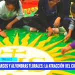 Arcos y alfombras florales: la atracción del Corpus Christi