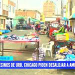 Vecinos de urbanización Chicago piden desalojar a ambulantes