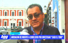 Caso El Toro: amenazan de muerte a consejero por investigar minería ilegal