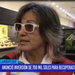 Chiclayo: Anuncio inversión de 700 mil soles para recuperación de Ventarrón