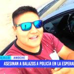 Asesinan a balazos a policía en el distrito de La Esperanza