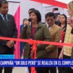 """Campaña """"Un solo Perú"""" se realiza en el complejo Chan Chan"""