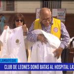 Chiclayo: Club de Leones donó batas al Hospital Las Mercedes