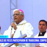 Miles de fieles participaron de tradicional Corpus Christi