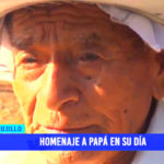 Homenaje a papá en su día