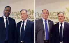 Dionisio Gutiérrez se reunió en Guatemala con el ex secretario adjunto de Homeland Security, Peter Edge, y con el ex jefe de policía Donald Delucca