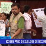 Chiclayo: Exigen pago de sueldos de dos meses