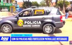 """Fortelecen """"Patrullaje Integrado"""" con 50 policías más"""
