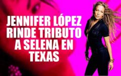 Jennifer López sorprende a fans de Selena Quintanilla con homenaje en Texas