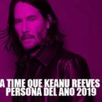 Recolecta de firmas para que Keanu Reeves sea la Persona del Año en la revista TIME