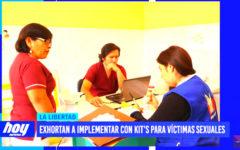 Exhortan a implementar con kit's para víctimas sexuales