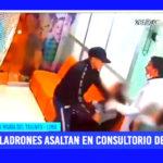 Lima: ladrones asaltan en consultorio dental en Villa María del Triunfo
