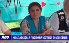 Marcelo designa a funcionaria destituida en red de salud