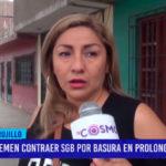 Temen contraer SGB por basura en prolongación Miraflores