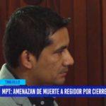 MPT: Amenazan de muerte a regidor por cierre de locales