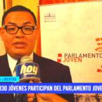 Política: 130 jóvenes participan del Parlamento Joven 2019
