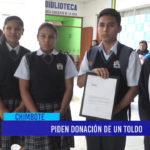Chimbote: Piden donación de un toldo