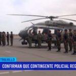 Jefe de Región Policial confirma retiro de 550 policías