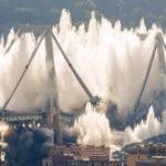 Italia: derriban el puente de Génova cuya caída causó 43 muertos el año pasado