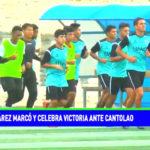Reynaldo Juárez marcó y celebra triunfo ante Cantolao