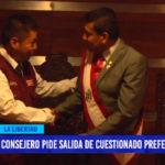 Consejero pide salida de cuestionado Prefecto Regional
