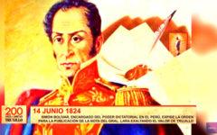Simón Bolívar envía nota a prefecto de Trujillo exaltando el valor de nuestra ciudad