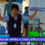 Realizan campañas de sensibilización en colegios por el SGB