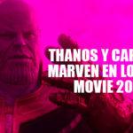 Thanos y Capitana Marvel en los MTV Movie & TV Awards 2019