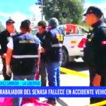 Huamachuco: trabajador de Senasa muere al despistarse su motocicleta