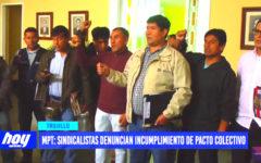 MPT: sindicalistas denuncian incumplimiento de pacto colectivo